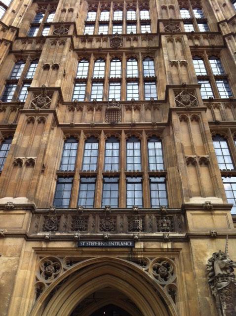 Parliament and the Portcullis - Caroline Shenton
