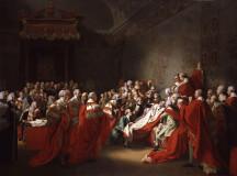 John Singleton Copley Death of Chatham 1778