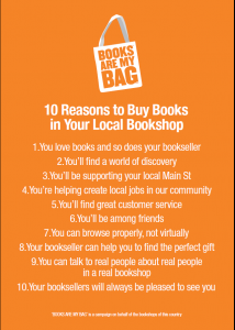 Why Books Are My Bag